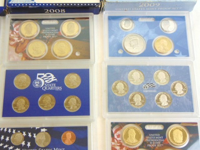 LOT OF 4 COLLECTIBLE U.S MINT PROOF SETS - 5