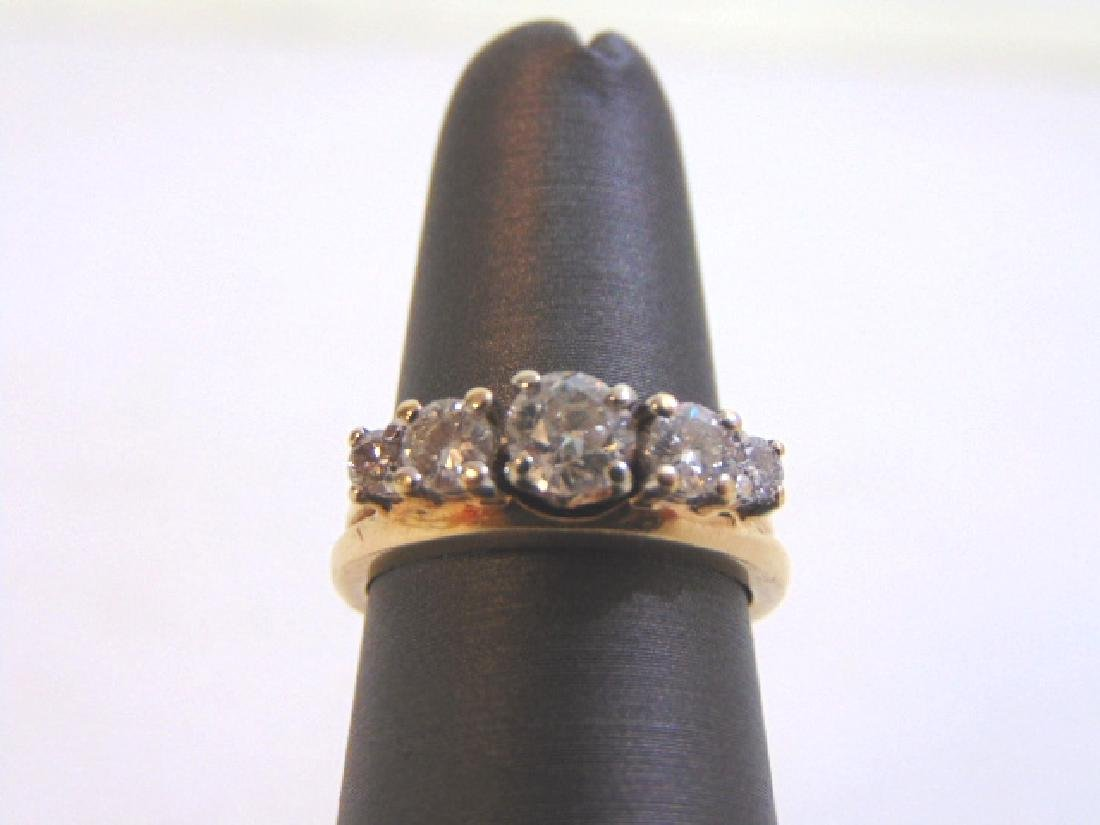 Vintage Estate Women's 14K Gold Diamond Ring