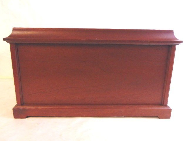 MAHOGANY COIN CASE CHEST FOR 100 SILVER DOLLARS - 5
