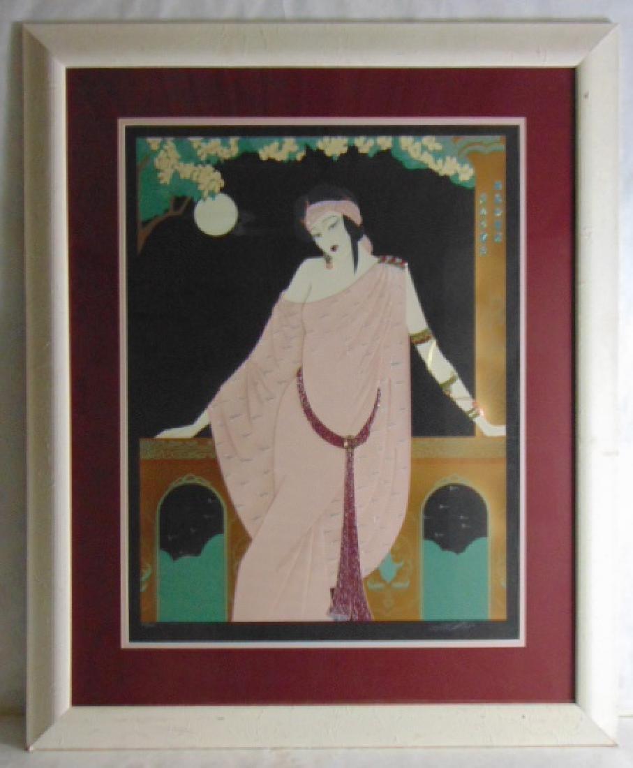 VINTAGE ART DECO ASIAN LILLIAN SHAO LIMITED PRINT