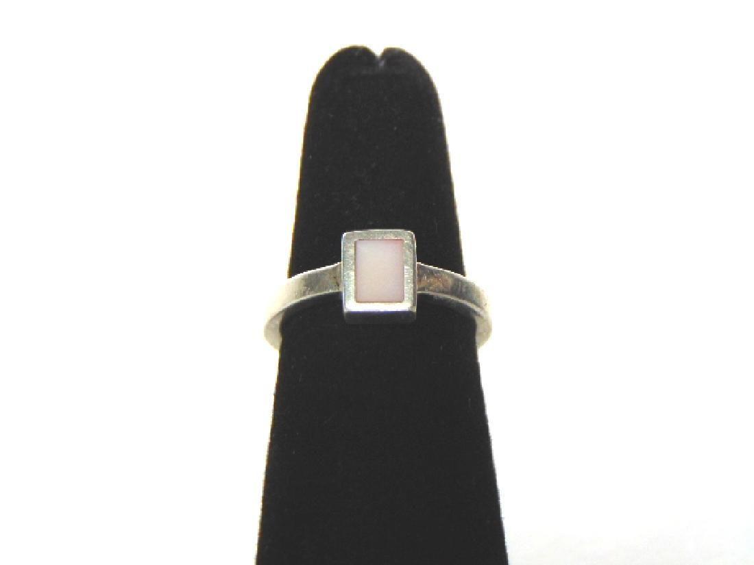 Womens Vintage Estate Sterling Silver Ring w/ Quartz?