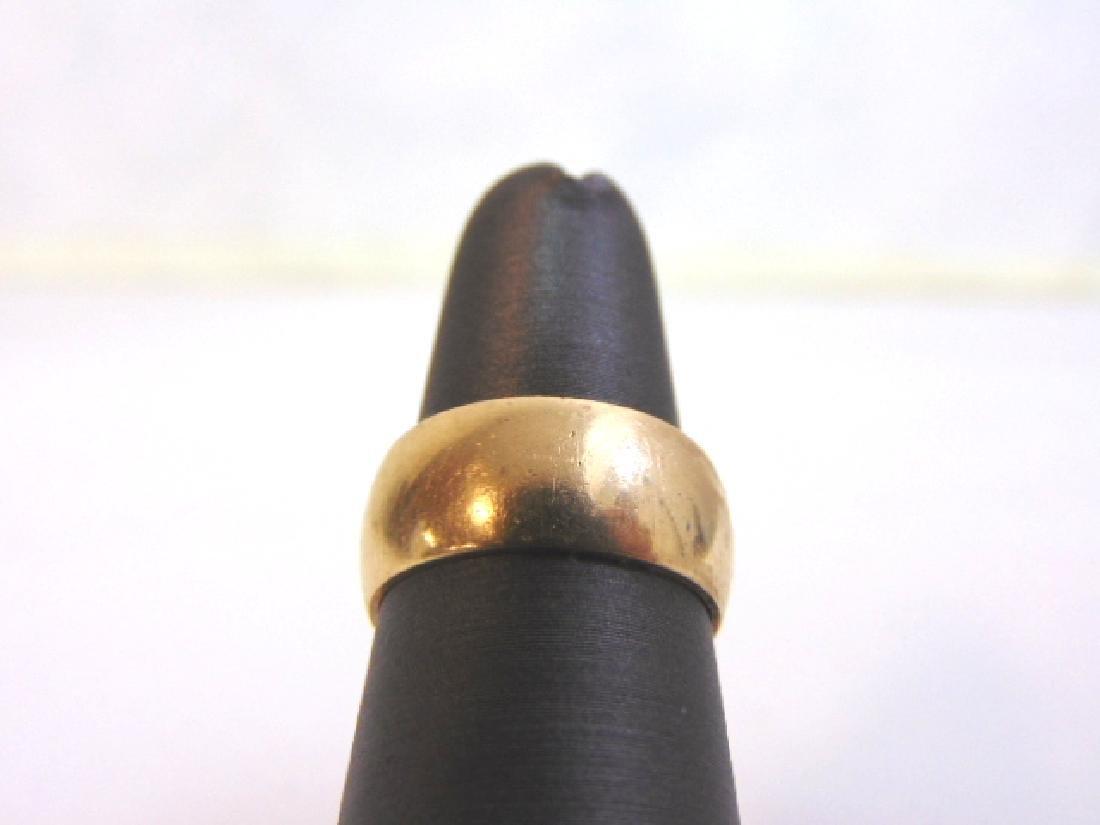 Vintage Estate 14K Yellow Gold Wedding Band Ring, 6.3g