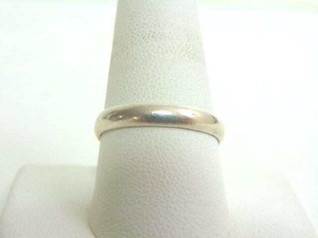 Vintage Estate .925 Sterling Silver Band Ring