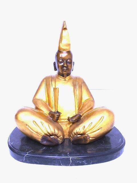 LIMITED EDITION BRONZE STATUE OF JAPANESE EMPEROR