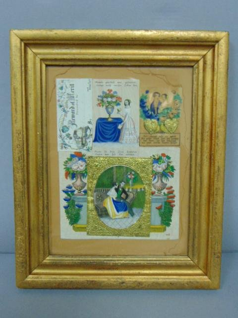 ANTIQUE VICTORIAN GERMAN TRADING GREETING CARDS