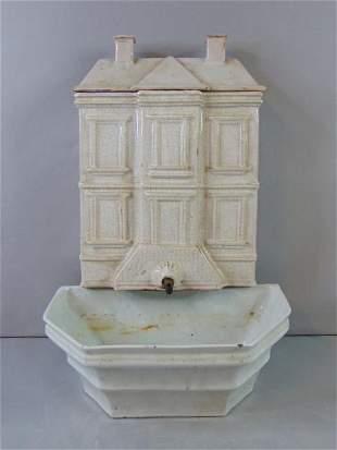 ANTIQUE WHITE HOUSE COTTAGE CHIC PLANTER