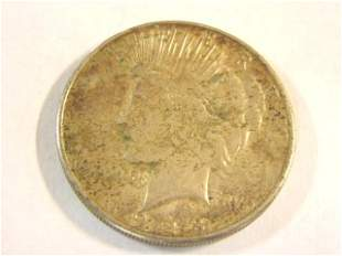 1928 SILVER PEACE DOLLAR KEY DATE