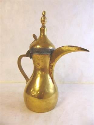 Antique Arabic Islamic Persian Dallah Coffee Pot