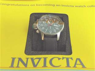 MENS INVICTA I FORCE CHRONOGRAPH STAINLESS STEEL WATCH