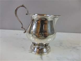 Vintage Revere Sterling Silver Creamer