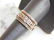 Womens Vintage Estate Sterling Silver Ring