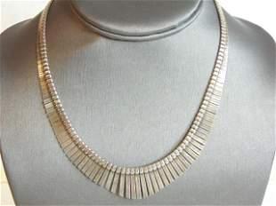 Womens Vintage Estate Sterling Silver Necklace