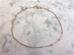 Womens Vintage Estate Sterling Silver Bracelet