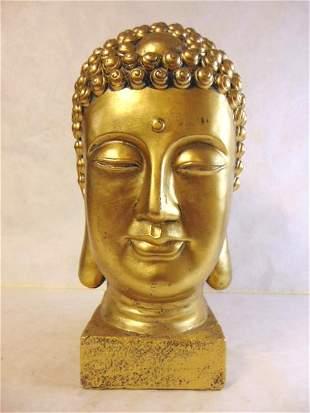 LARGE DECORATIVE BUDDHA BUST