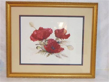 SIGNED LIMITED EDITION PRINT BY LISTED ARTIST LYN SNOW