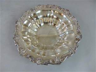 ANTIQUE .925 STERLING SILVER BOWL