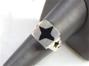 Vintage Estate Sterling Silver Star Ring