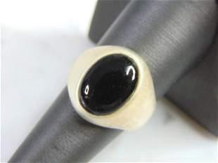 Vintage Estate Sterling Silver Marcasite Ring
