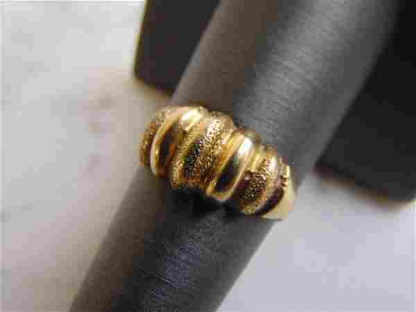 Womens Vintage Estate 14k Yellow Gold Ring