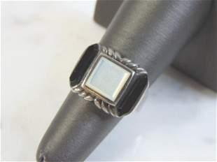 Womens Vintage Estate .925 Sterling Silver Ring