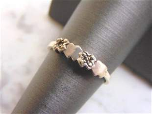 Women's Vintage Estate Sterling Silver Ring