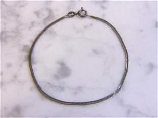 Vintage Estate Italian Sterling Silver Bracelet