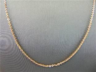 Women's Vintage Estate Fine 18K Rose Gold Necklace
