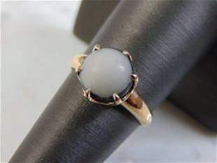 Womens Vintage Estate 18k Yellow Gold Ring