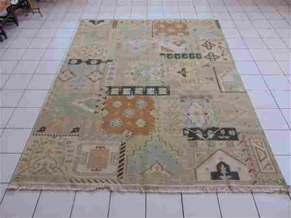 HAND KNOTTED PERSIAN DESIGN SUMACK AREA RUG