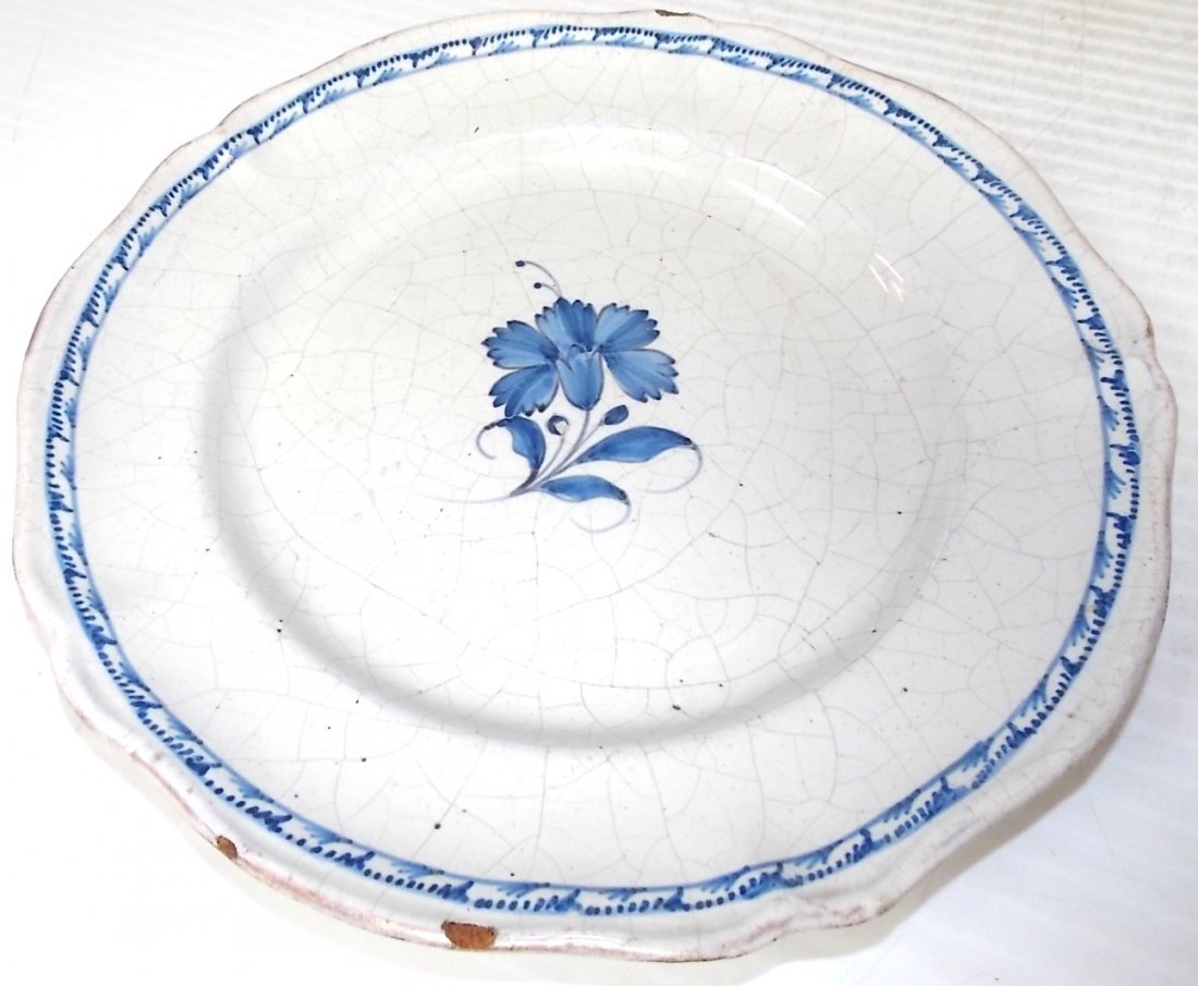 VINTAGE ANTIQUE ASIAN CHINESE IMPORT DINNER PLATE