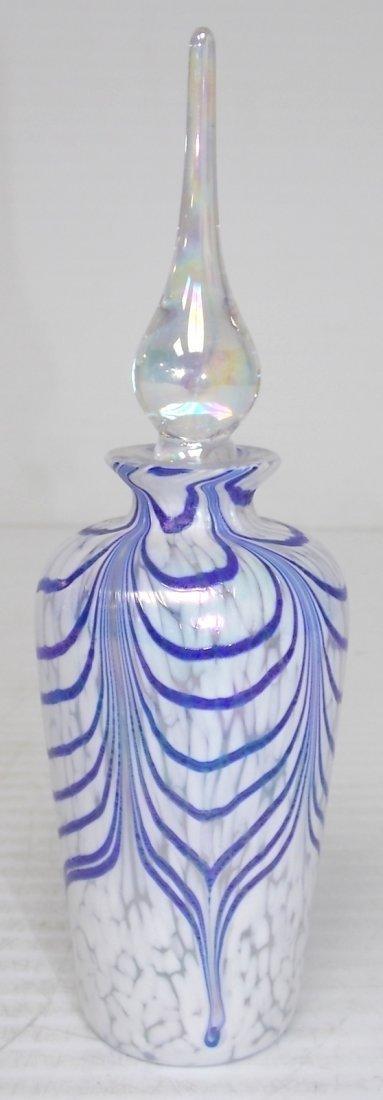 DECORATIVE ART GLASS PERFUME BOTTLE