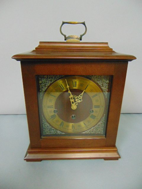 VINTAGE GERMAN WELBY BRACKET CLOCK WESTMINSTER CHIMES