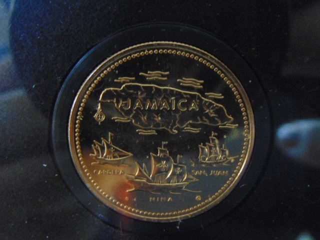 ESTATE FIND 1972 $20 JAMAICAN GOLD PROOF COIN