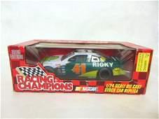 LOT OF 2 VINTAGE NASCAR DIECAST MODEL CARS W/ BOX