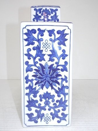 CHINESE PORCELAIN FLORAL DOUBLE HAPPINESS GINGER JAR - 2