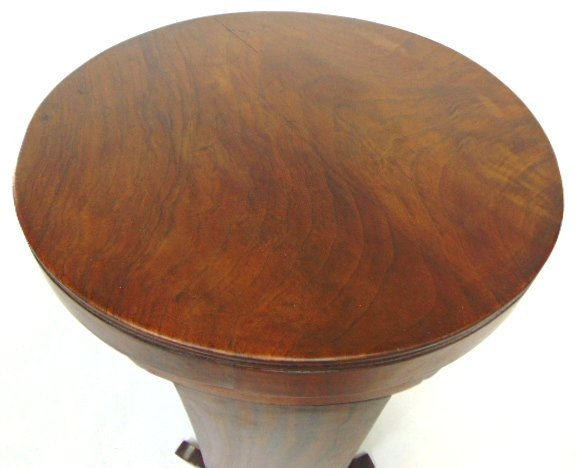 ANTIQUE ART DECO DANISH MODERN STYLE ROSEWOOD TABLE - 3