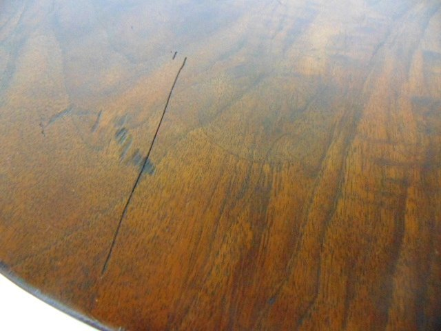 ANTIQUE ART DECO DANISH MODERN STYLE ROSEWOOD TABLE - 5