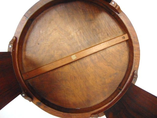 ANTIQUE ART DECO DANISH MODERN STYLE ROSEWOOD TABLE - 6