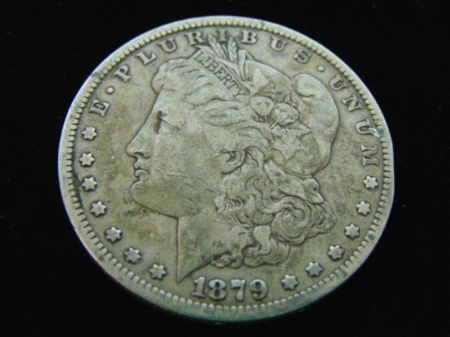 1879 MORGAN SILVER DOLLAR COIN ESTATE FIND
