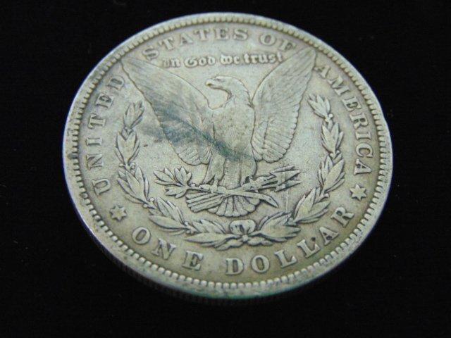 1879 MORGAN SILVER DOLLAR COIN ESTATE FIND - 2