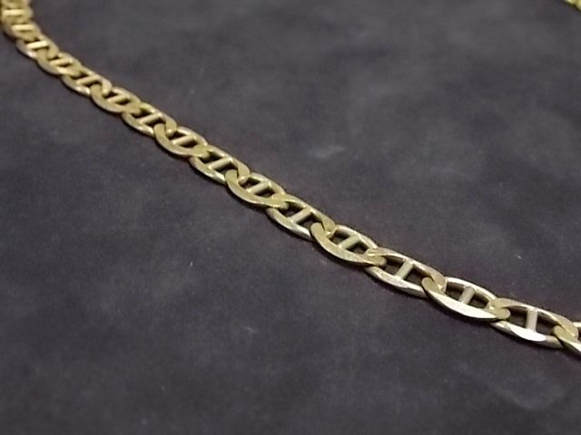 Sterling Silver Chain Necklace Made in Italy - 2