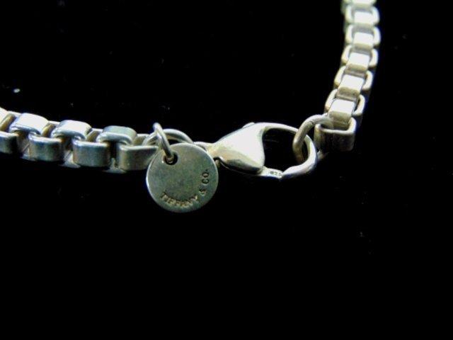 Sterling Silver Tiffany & Co Box Link Bracelet - 4
