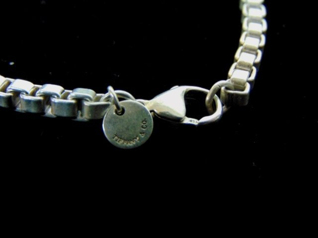 Sterling Silver Tiffany & Co Box Link Bracelet - 4