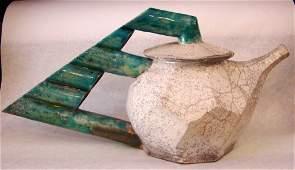 John Ransmeier Contemporary Art Pottery Coffee Pot