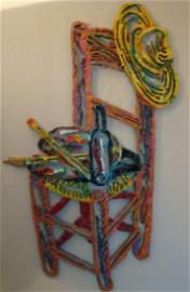 """Metal Sculpture by Israely artist David Gerstein, """"Van"""