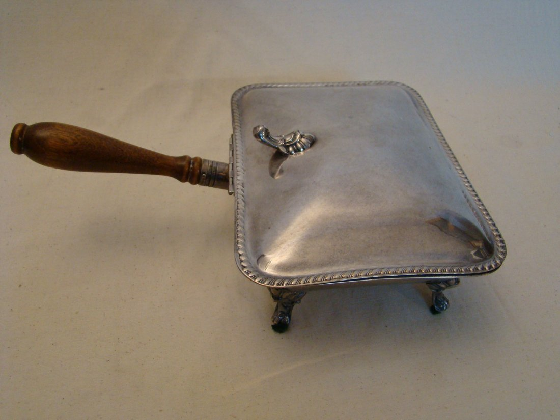 """Vintage Silver plated """"dumb waiter"""", by W.Rogers"""