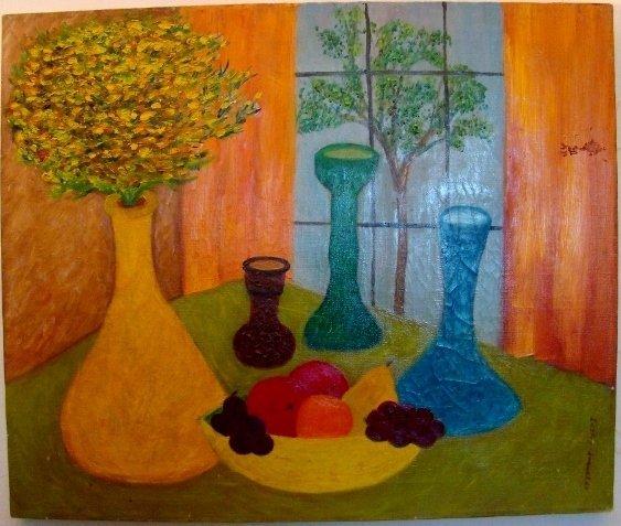 "Maude Lederman, oil on canvas, 24"" X 20"