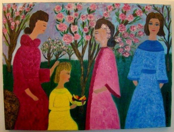 """Maude Lederman, oil on canvas, 18"""" X 24""""( unframed). Ma"""