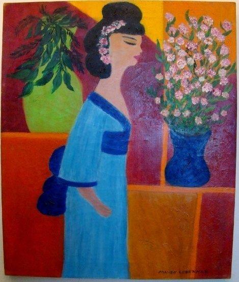 """Maude Lederman, oil on canvas, 24"""" X 20"""" ( unframed). M"""