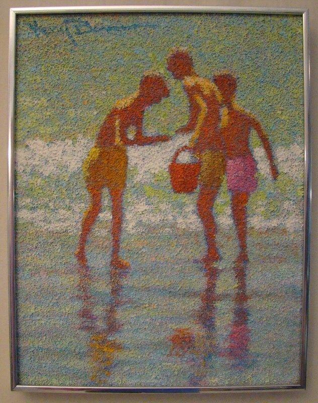 American artist Henry Benson of Boca Raton, Florida.